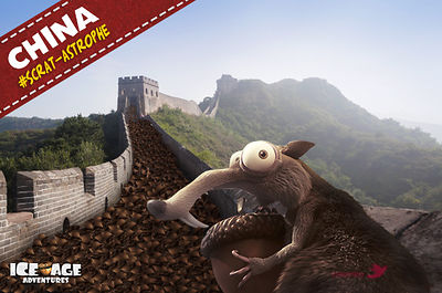 Gameloft Ice Age - China great wall