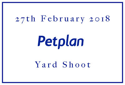 2018 Petplan Yard Shoot 27th February  photos