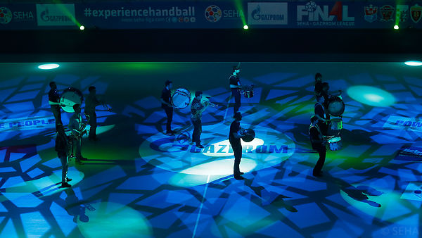 Opening ceremony during the Final Tournament - Final Four - SEHA - Gazprom league, Semi Final match, Varazdin, Croatia, 01.04.2016, ..Mandatory Credit ©SEHA/Stanko Gruden.