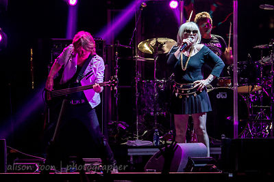 Debbie Harry and Leigh Foxx, Blondie, TBD Fest, Sacramento 2014