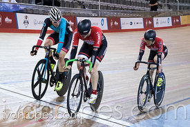 Junior Men Elimination Race. Canadian Track Championships (U17/Junior/Para), April 1, 2017