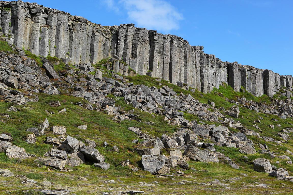 Basalt Columns Iceland : Martin grace photography gerduberg basalt columns
