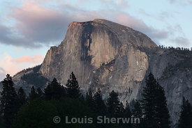 Half Dome in the evening light