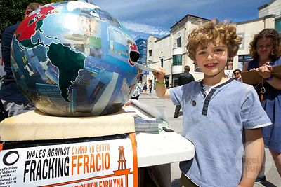 WALES AGAINST FRACKING DAY photos