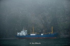 The Petrozavodsk, a Russian ship, remains stuck on the southern coast of Bear Island in Norway.