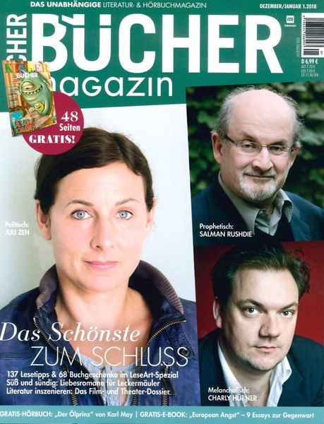 Bücher Magazine (Germany) Dec 2017 photos