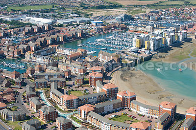 Eastbourne harbour, Eastbourne, East Sussex