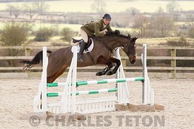 West Wilts Show Jumping for Eventer's 2016 Series, Friday 4th March 2016. Outside.