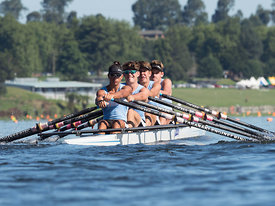 Taken during the National Championships 2018, Lake Karapiro, Cambridge, New Zealand; ©  Rob Bristow; Frame 0986 - Taken on: Friday - 16/02/2018-  at 09:01.02