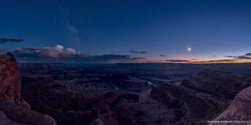 After the eclipse - Dead Horse Point - Utah