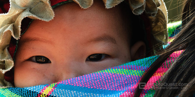 Hmong Baby in Blanket