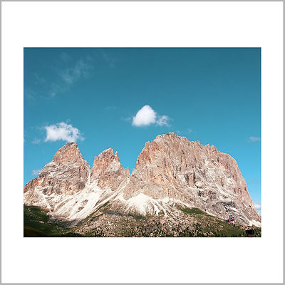 5th July 2011 - Sassolungo Group (View from Passo Sella) - Dolomites (Italy)