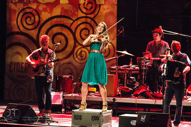 Hoopla - Gaelic Storm, Englert Theatre, February 11, 2015 photos