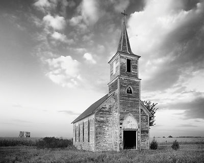 Old Nebraska Church #3