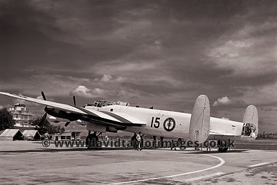 French Navy Lancaster WU15 | RAF Changi | November 1962