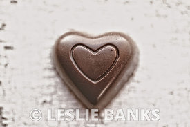Vintage Chocolate Heart