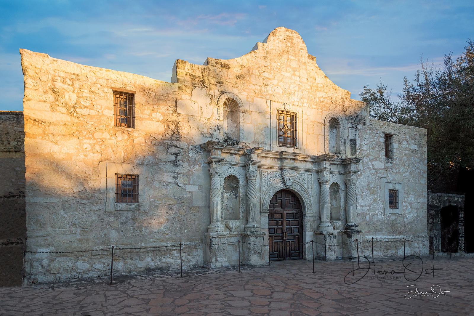 Alamo At Sunset, San Antonio, TX