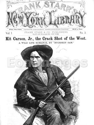 Kit Carson, Crack shot of the West
