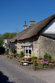 The Bush Inn, St Hilary near Cowbridge,Vale of Glamorgan, South Wales, UK.