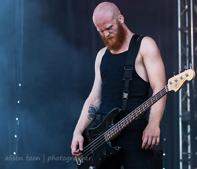 Joe Goldman, bass, Code Orange