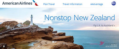 American airlines web banner advertising