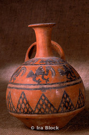 ancient Incan pottery