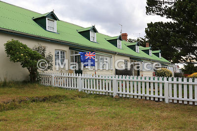 Constables Row Police Cottages (built 1861-1867), Stanley, East Falkland, Falkland Islands