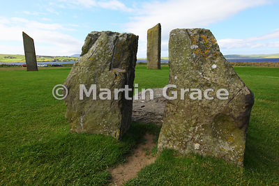 Standing Stones of Stenness, West Mainland, Orkney, United Kingdom