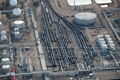 Rail Car Oil Transfer Station