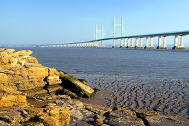 Secon Severn Crossing, Caldicot, Monmouthshire, South Wales.