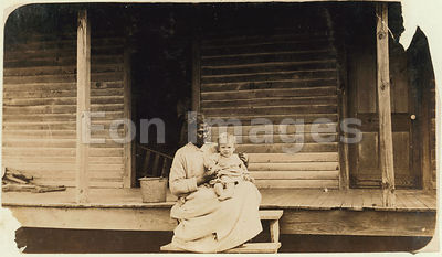 Hine photo of African-American nanny in 1911