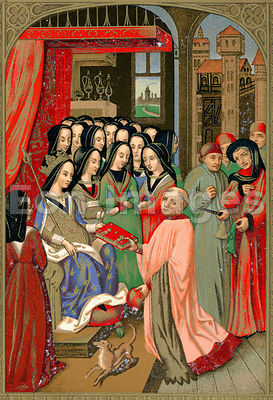 Court of Marie of Anjou, Wife of Charles VII