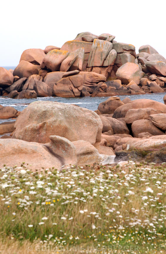 Pink Granite coast Art Photographs