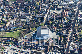 Aerial Photography Taken In and Around Canterbury-Marlow Theatre