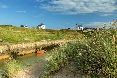 Seaton Sluice from the Dunes (2)