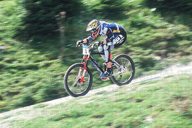 STEVE PEAT SEMI FINAL KAPRUN, AUSTRIA. GRUNDIG DOWNHILL WORLD CUP 1997