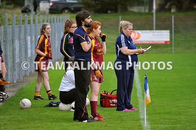 LADIES SFC | St Macartan's v Carrickmore  photos