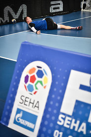 Maxim BABICHEV of Meshkov Brest during the Final Tournament - Final Four - SEHA - Gazprom league, training, Varazdin, Croatia, 31.03.2016, ..Mandatory Credit ©SEHA/Zsolt Melczer..