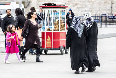 People in Taksim Square, Istanbul