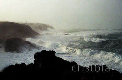 Atlantic storm at Pendeen