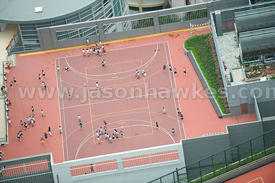 School Playground, Hong Kong