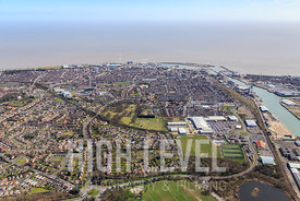 Aerial Photography taken in and around Lowestoft, UK