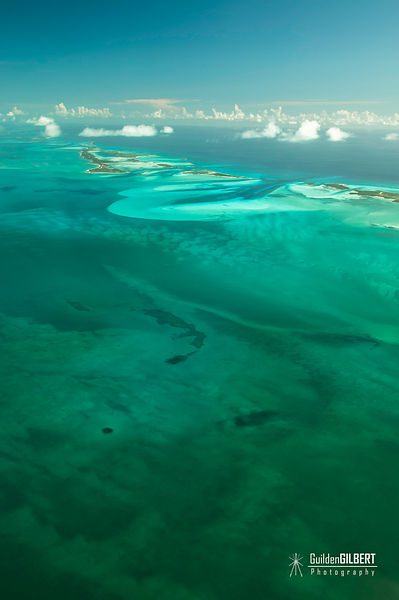 Exumas from Air Photos