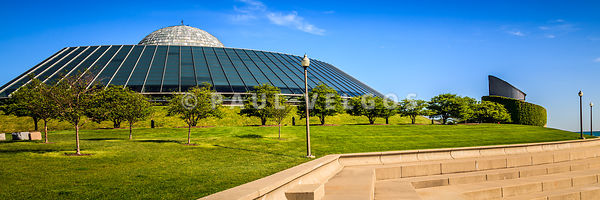 Chicago Adler Planetarium Panorama Picture