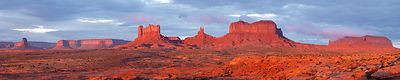Morning at Monument Valley #3
