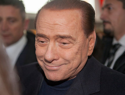 Silvio Berlusconi photographers
