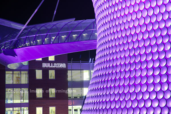 The Selfridges building at the Bullring Shopping centre, Birmingham, England