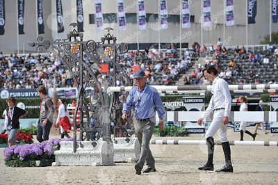 Andres RODRIGUEZ ,(VEN) during Longines Cup of the City of Barcelona competition at CSIO5* Barcelona at Real Club de Polo, Barcelona - Spain