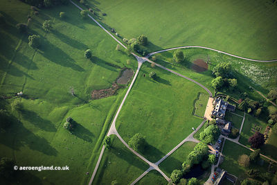 Launde Abbey Leicestershire,  from the air