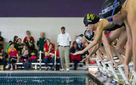 IGHSAU Regional Swimming, Mercer Aquatic Center, October 27, 2012